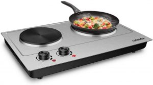 Best hot plate for cast iron skillet