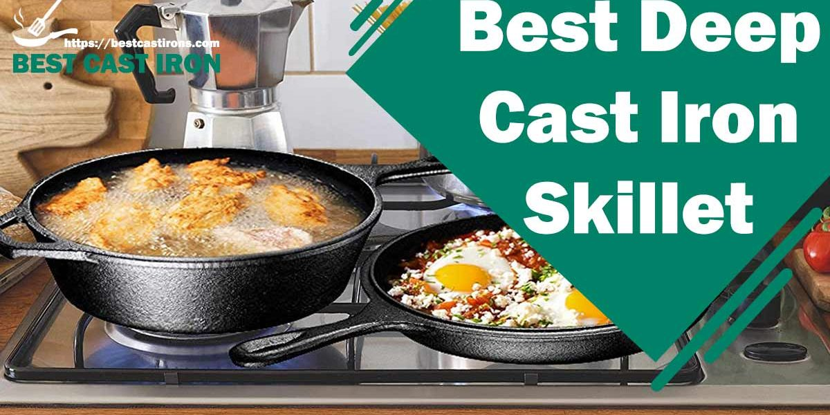 Best Deep Cast Iron Skillet in 2021 – (Review's & Buyer Guide)