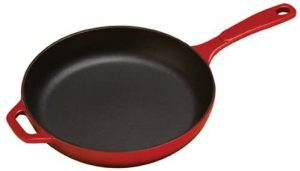 best enameled cast iron skillet and pan